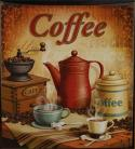 Dishwasher Magnet Coffee Latte country Kitchen Decor Bistro